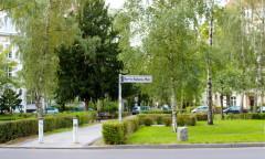 Renée-Sintenis-PLatz/Handjerystraße, Malschule Friedenau