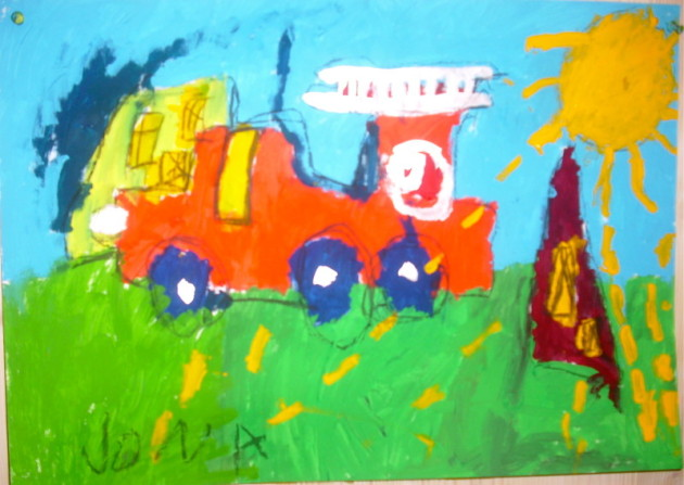 Gemalte Kinderbilder malschule friedenau das geheimnis der kinderbilder