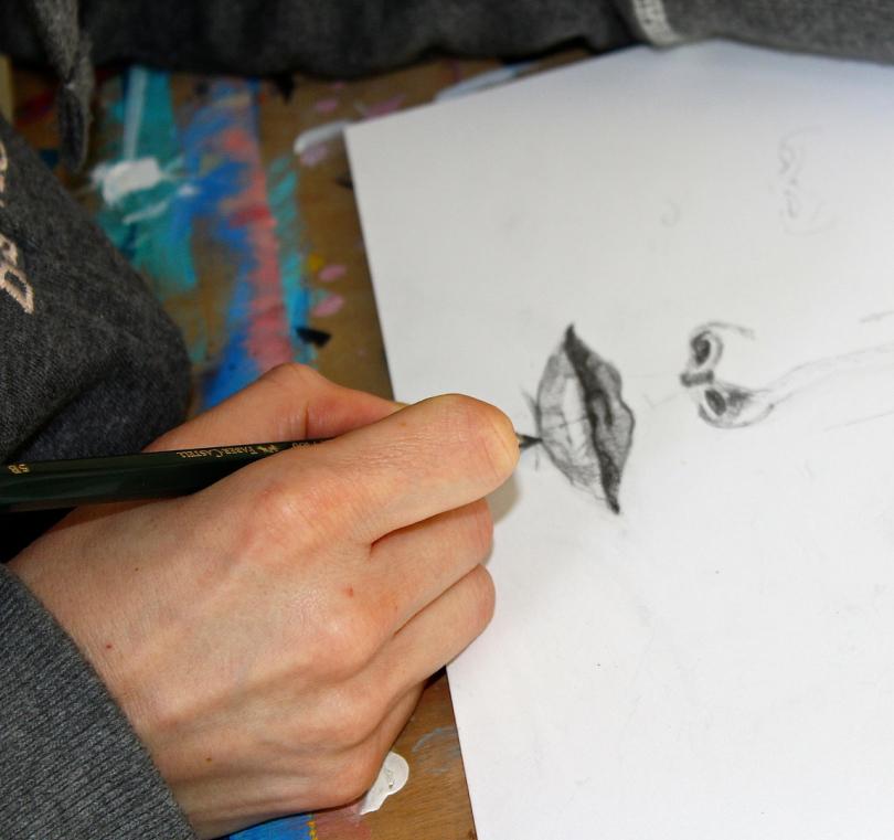 Zeichenkurs Erwachsene, Malen und Zeichnen Berlin, Malschule Friedenau